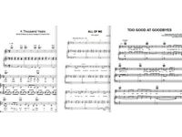 Sheet music of any song for any instrument!