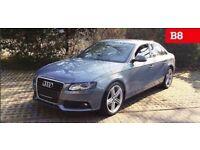 Audi A4 B8 saloon Liqiud Blue LY5J