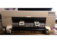 HP DesignJet 450C A1 plotter - not in use for 1 year but in good working order when last used.