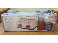 BaByliss PRO Satin Smooth Professional Double Wax Heater Kit