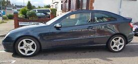 2005 Mercedes C180 Kompressor AMG Evo Pack (Sat nav,Panoramic Sunroof) £2550! *Full service history*