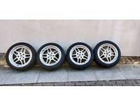 """**5x120 17"""" BMW AC Schnitzer Type II wheels & new tyres**"""