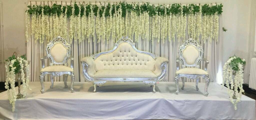 Asian wedding stages floral stages mehndi stages house lighting asian wedding stages floral stages mehndi stages house lighting chair covers for hire junglespirit Gallery