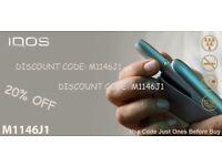 IQOS 20% DISCOUNT CODE FREE