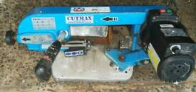 Cutmax bandsaw 110v