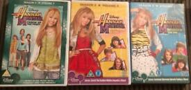 X5 Hannah Montana Dvds Brand New And Factory Sealed