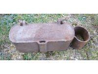Bamfords cast iron tool box tractor stationary engine