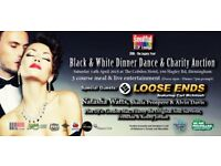 Black & White Dinner Dance & Charity Auction featuring Loose Ends