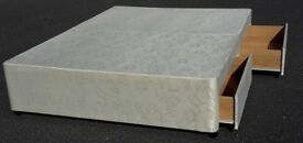 UNUSED / Ex shop demo 5ft king size 4 drawer divan bed base only