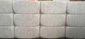 Light grey headboard (Double bed size)