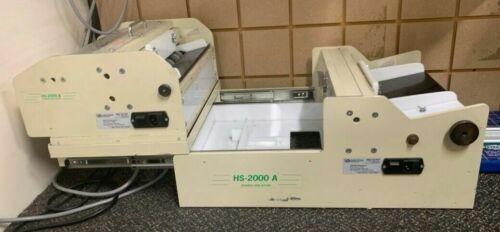 RB Sun Enterprises HS-2000AB Business Card Slitter Cutter