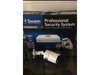 Swann nvr 1080p unit with 1 bullet camera