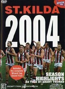 AFL - St. Kilda Season Highlights  / 2004 Wizard Cup Premiers (DVD, 2004,...