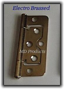 Flush door hinges Zinc,Electro Brass & antique 50mm,60mm,75mm