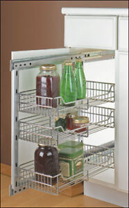 """Lee Valley Cupboard Small Side-Mount Pullout 10""""  (Brand new)"""