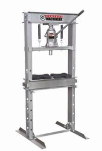 HOC SP20 - 20 TON H-FRAME INDUSTRIAL HEAVY DUTY FLOOR SHOP PRESS + 90 DAY WARRANTY + FREE SHIPPING