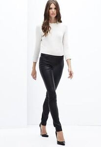 Ann Taylor Leather Skinny Pant Leggings Brand New with Tag Sz14