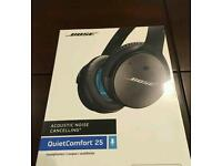 Bose QuietComfort 25 brand new factory sealed wireless