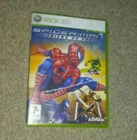 spiderman friend or foe xbox 360 game