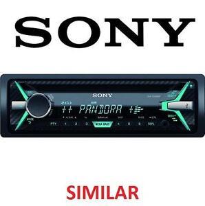 NEW* SONY CAR AUDIO RECEIVER SINGLE CD USB IPOD PANDORA AUX 109152925