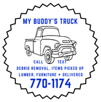 Need a truck to pick up/deliver items?  Garbage to the dump?