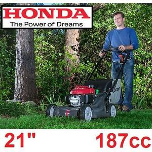 NEW* HONDA 21'' GAS LAWN MOWER - 117881625 - 187cc SELF PROPELLED VARIABLE SPEED WALK BEHIND LAWNMOWER MOWERS LAWNMOWERS