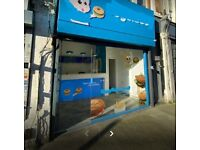 Excellent shop A5 Commercial food Takeaway to rent. In Kilburn. Rent £1750 pm. Zero B RATES. Central