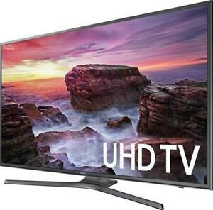 "SAMSUNG 65"" LED 4K HDR SMART UHDTV *NEW IN BOX WITH WARRANTY*"