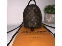 Louis Vuitton LV palm springs mini back pack - free postage