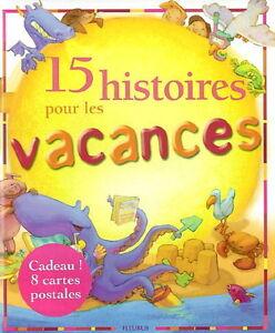 Livre 15 histoires pour les vacances