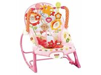 Fisher-Price Infant to todler rocker/seat - brand new