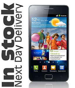 Samsung i9100 Galaxy S II NextG 3G 16GB Android 8MP Smartphone in Black  A