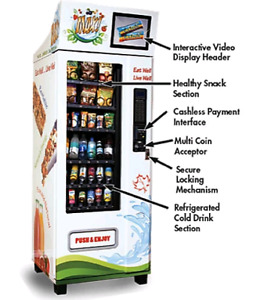 FREE HEALTHY VENDING MACHINE AT YOUR OFFICE/ BUSINESS