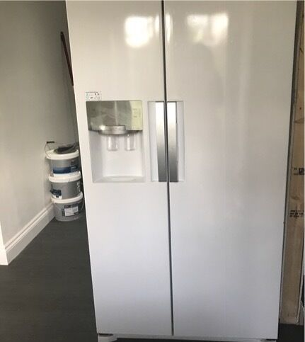 White Samsung American Fridge Freezer For Sale In Sidcup