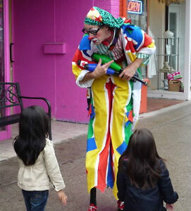 """""""FLOATING"""" CLOWN Stilts Juggler - Shopping Mall Community Events Peterborough Peterborough Area image 9"""