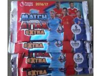 Match Attax / Extra Cards 2016/17 Season 20 MAE Packs Sealed (5 Per Pack) + 300 Others (Inc. Foils)
