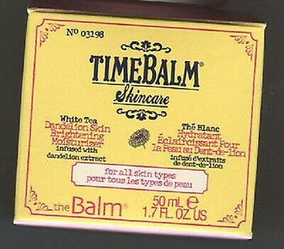 theBalm TIMEBALM Skincare White Tea Dandelion Skin Brightening Moisturizer