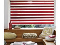 Red Luxaflex Twist Blinds - Large Size