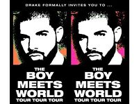 DRAKE (LONDON SAT 28th Jan) VIP BOX TICKETS BEST TICKETS AVAILABLE