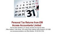 Tax Returns Specialists Chartered Certified Accountants
