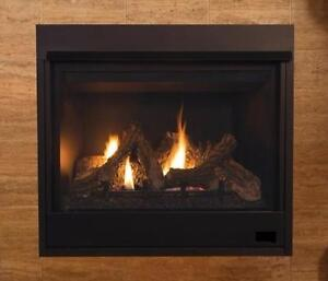 GAS FIREPLACE - LOG BURNER
