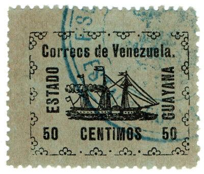 (I.B-CK) Venezuela Local Post : Maturin State 50c
