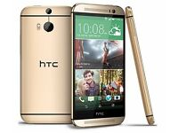 HTC ONE M9 32GB GOLD UNLOCKED GOOD CONDITION!