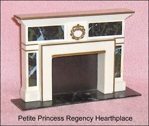 Petite Princess Fireplace Vintage  Dollhouse Furniture