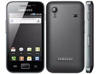 Samsung Galaxy ACE (BLACK) For Quick Sale