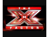 **SEEKING MALE VOCALIST/GUITARIST FOR X FACTOR**