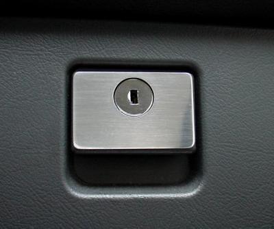 Mercedes Benz SLK R170 180 280 200 350 AMG Brabus Alu Zierblende Handschuhfach