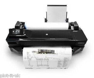 HP Designjet T120 A1 Plotter CQ891A Wide Format Printer Inc VAT & FREE Paper NEW
