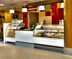 Gelato ice-cream Display Freezers Refrigeration pastry bakery