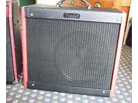 FENDER BLUES JUNIOR LIMITED EDITION GUITAR AMP - TEXAS RED WITH EXTENSION CABINET